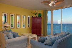 Living Room to 1418 http://www.paradisegulfproperties.com/