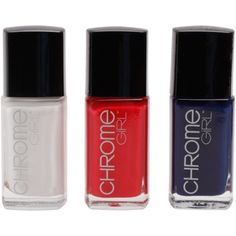 $29.95 Montreal Canadiens Ladies 3-Pack Nail Polish - Navy Blue/White/Red