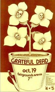 Grateful Dead Poster 1973-10-19