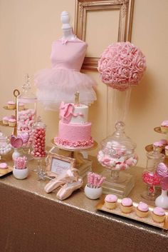 You won't want to miss this 1st Birthday Ballet Party!