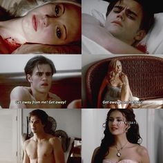 They had they had the same reactions when they first found out about vampires. Their PERFECT for each other.