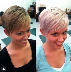 Short Hairstyles - 1 Short Hair Model, Short Hair Cuts, Short Hair Styles, Pixie Cuts, Pixie Hairstyles, Pretty Hairstyles, Hairstyle Short, Pixie Haircuts, Dark To Light Hair