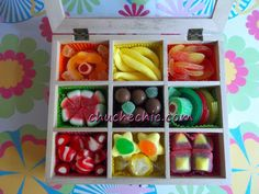 Chocolates, Candy Boxes, Watermelon, Fruit, Sweet, Desserts, Gifts, Ideas, Colorful Candy