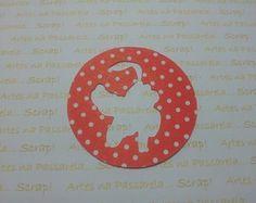 Recorte circular PLUTO festa do MICKEY