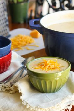 Gluten Free Cheddar Cheese Soup with Ham is your favorite comfort soup in a gluten free version. And, boy, are you going to love it!