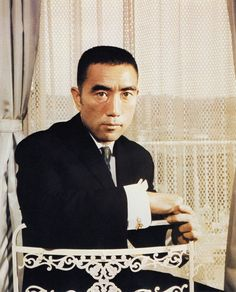 Yukio Mishima 三島由紀夫 (Kimitake Hiraoka 平岡 公威), January 14, 1925 – November 25, 1970. Japanese author, poet, playwright, actor, and film director. Mishima is considered one of the most important Japanese authors of the 20th century, Japanese History, Japanese Men, The Last Samurai, Nobel Prize In Literature, Cinema Movies, Playwright, Film Director, Good Looking Men, Poet