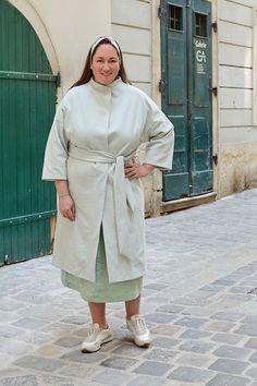 Plus Size Kleidung, Shirt Dress, Coat, Jackets, Shirts, Dresses, Style, Fashion, Contrast Color