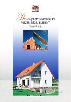 Graphic Design, Realisierung I Produkt Broschüre I Rötzer Ziegel Element Haus