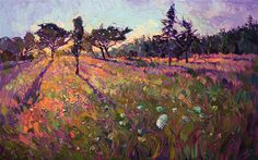 The latest release from Erin Hanson's coveted Crystal Light series of landscape paintings.