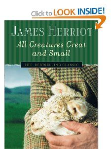 All Creatures Great and Small by James Herriot, recommended by Special Collections Librarian Marcus Ladd
