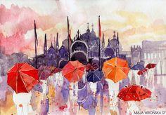 LAVRAPALAVRA : Maja Wrońska umbrellas