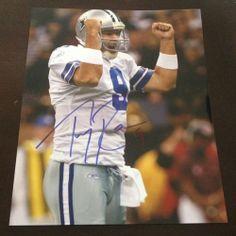 Dallas Cowboys Tony Romo Signed Autographed 8x10 Photo FULL SIG *sale*