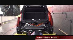 2014+ BMW i3 Stealth Ecohitch® Trailer Hitch Installation-Torklift Central #BMW #BMWi3 #i3 #hitch #trailerhitch #stealthhitch #hiddenhitch #bikerack #hauling #towing #bmwbikerack #ecohitch #eco #towhitch #cargo #thule #yakima
