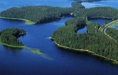 La región de los lagos en Finlandia - http://vivirenelmundo.com/la-region-de-los-lagos-en-finlandia/3851 #Finlandia, #Helsinki, #RutaDeLosLagos