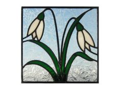 22. Radiance Stained Glass ~ Snowdrops Stained Glass
