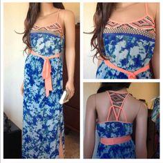 Last One Chiffon Maxi Dress