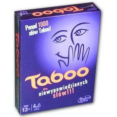 Gra towarzyska Taboo-Hasbro