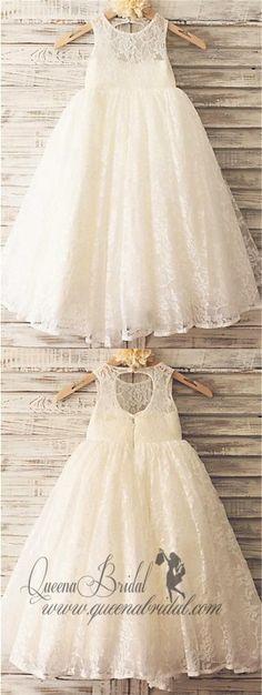 New Wedding Dresses Simple Princess Flower Girls 38 Ideas Country Wedding Dresses, Princess Wedding Dresses, Perfect Wedding Dress, White Wedding Dresses, Bridal Dresses, Girls Dresses, Bridesmaid Dresses, Lace Wedding, Bridal Gown