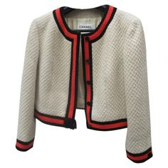 Chanel  jackets | OH! YOU PRETTY THINGS: EN VOGUE - CHANEL TWEED JACKET