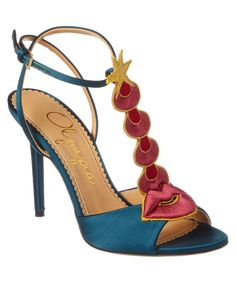 CHARLOTTE OLYMPIA Charlotte Olmypia Sci Fi Heeled Satin Sandal'. #charlotteolympia #shoes #sandals