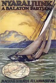 Lake Balaton, Hungary Retro Ads, Vintage Ads, Sailing Theme, Vintage Travel Posters, Illustrations And Posters, Budapest, Poster Prints, 1, Tarot