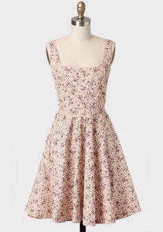 Enchanted Garden Floral Dress In Pink at #Ruche @shopruche