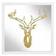 Golden Deer Art from Z Gallerie #poachit