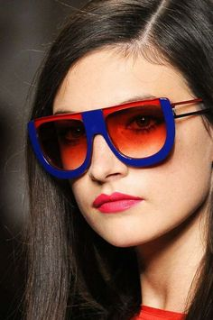 77a586096b The Fendi Sunglasses Spring 2011 Collection Adds Candy-Colored Fun
