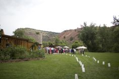 Modern Rustic Colorado Wedding at Planet Bluegrass Gallery - Style Me Pretty