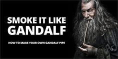 Make Your Own 'Gandalf' Wooden Pipe