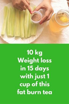 10 kg Weight loss in 15 days with just 1 cup of this fat burn tea Fat Burning Water, Fat Burning Drinks, Fat Burning Foods, Reduce Belly Fat, Lose Belly Fat, Weight Loss Tea, Lose Weight, Reduce Weight, Detox Cleanse For Weight Loss