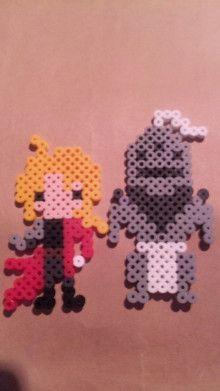 Fullmetal Alchemist perler beads