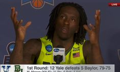 Baylor Player Has The Perfect Response To The Dumbest Question Basketball Tickets, Duke Basketball, Basketball Compression Pants, Dumb Questions, Baylor University, Young Prince, World Of Sports, Rebounding