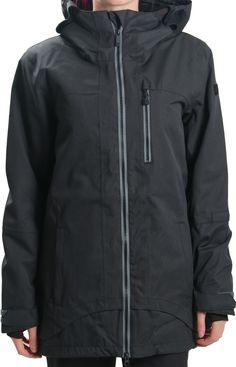 Volcom scope pullover jacket women's