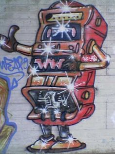 Graffiti - Flughofstrasse in Rümlang [Switzerland]