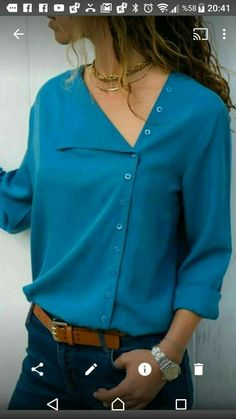 New sewing clothes tops autumn Ideas Sewing Clothes, Diy Clothes, Clothes For Women, Cool Outfits, Fashion Outfits, Womens Fashion, Smart Outfit, Indian Designer Wear, Mode Inspiration