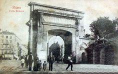Porta Romana, Piazza Medaglie d'Oro 1899 | da Milàn l'era inscì