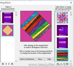 EQ7 tutorial Tuesday- String Quilts