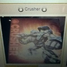 Crusher says: it's crush hour