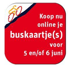 Bestel nu online je buskaartje(s) voor 5 + 6 juni