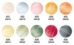 Twinkle Series Japanese Hamanaka Wool Felt 30g 10 Colours Can