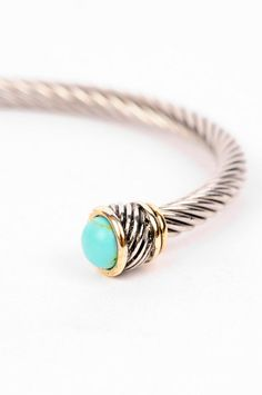 in turquoise! so cute