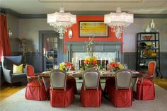 Formal Traditional Dining Room by Jennifer Stoner on HomePortfolio   #1