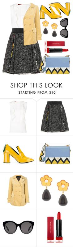 """Untitled #1707"" by ainara26 ❤ liked on Polyvore featuring MaxMara, Dolce&Gabbana, Coliàc Martina Grasselli, Prada, Aspesi, Lizzie Fortunato, Gucci and Max Factor"