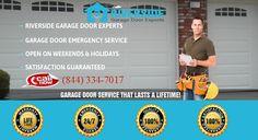 Get Professional garage door for all #garagedoorservice, work on 100% customer side satisfaction Call 844 334 7017  http://www.citiservi.com/california/riverside-garage-door-experts-riverside__4799046_597.html