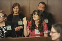 """""""Jess works for justice. Tap the link in our bio to watch last night's #NewGirl."""""""