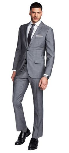The perfect Men's Custom Suit in Hamilton Sharkskin Gray fabric, perfect for your wardrobe. Shop a wide selection of Men's Custom Suits, gray suits, charcoal suits & more at INDOCHINO. FREE Shipping on orders over $150.