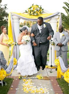 """If you've ever attended a black wedding, you may have seen the couple """"jump the broom."""" 
