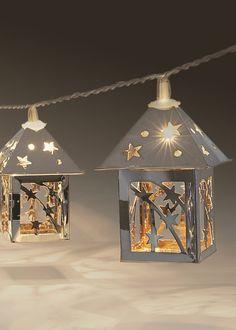 20 Decorative Lantern Lights (3.15m) - Matalan