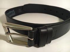 LEVI'S  BELT Size 30 / 75  Levi's Men's Black Genuine Leather Belt 11LV02RN NEW #Levis